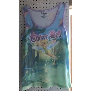 Preowned Disney Tinkerbell tank top
